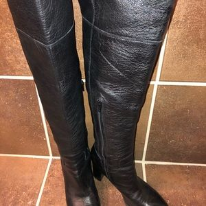 Nine West Leather Over the Knee